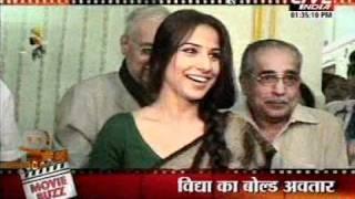 FHM+Vidya+Balan+Coverage+on+Movie+Buzz+Live+India