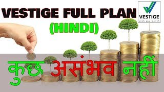 Nothing is Impossible   Vestige Full Business plan in Hindi by Youngest entrepreneur   Wealth Plan  