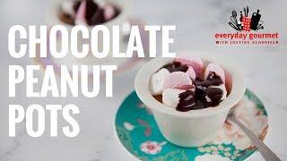 Chocolate Peanut Pots | Everyday Gourmet S7 E84