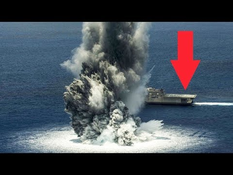 watch US Navy Using Best Weapons: Missiles, Bombs, Naval Guns, Explosives vs Ships