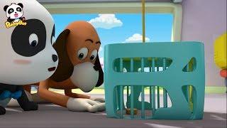 お菓子を盗んだ犯人はだれだ!| 警察  おまわりさん  パトカー | 赤ちゃんが喜ぶアニメ | 動画 | BabyBus