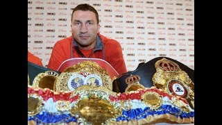 KLITSCHKO RETIRES, ONE OF THE MOST DOMINANT HEAVYWEIGHTS EVER!!!