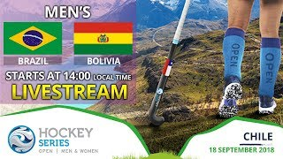Brazil v Bolivia | 2018 Men's Hockey Series Open | FULL MATCH LIVESTREAM
