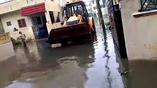 Chennai flood in madippakam Area, velachery