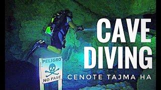 Cave Diving Cenote Tajma Ha GoPro 2016