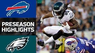 Bills vs. Eagles   NFL Preseason Week 2 Game Highlights