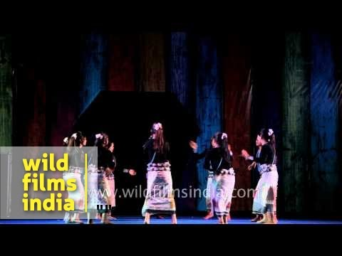 Xxx Mp4 Young Tribal Girls Of Arunachal Dance To Modern Galo Song In India 3gp Sex