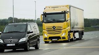 ► 2017 Mercedes Actros Truck - Test Drive