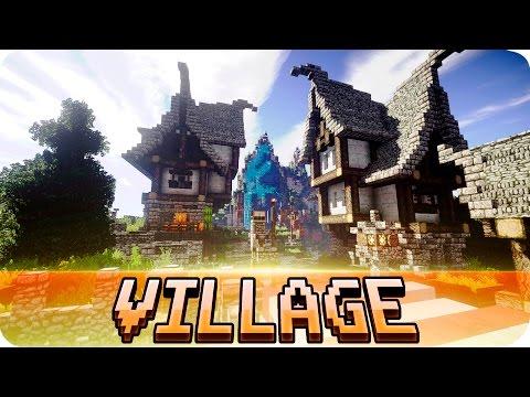Xxx Mp4 Minecraft Beautiful Medieval Village Map W Download 3gp Sex