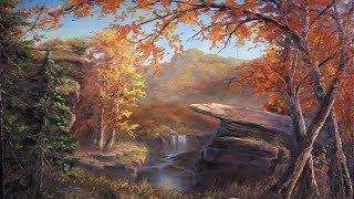 Autumn Cliffs | Paint with Kevin®