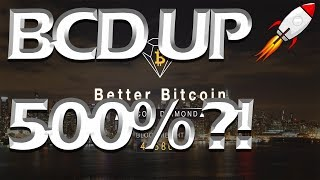 BITCOIN DIAMOND (BCD) UP 500% IN 24H! My Thoughts on BCD Bitcoin Hardfork