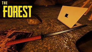 GETTING THE KATANA IN 10 MINS! The Forest S1 Episode 1