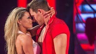 Ashley Taylor Dawson & Ola dance the Samba to