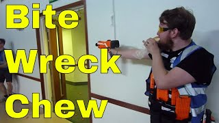 Stryfe Fully Automatic Nerf Mod - How To Eat Whilst Owning With A Stryfe Full Auto Nerf Gun