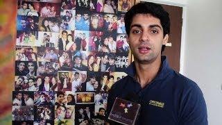 Karan Wahi Showing His Gift Closet