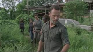 The Walking Dead - Ending Scene, Season 7 Episode 9 HD