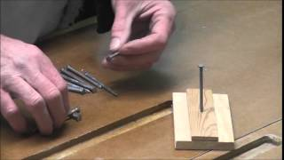 Impossible Nail Trick, a trick to make you rich in the pub