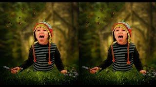 Outdoor Portrait Editing In Photoshop CC Tutorial (Blur Background)