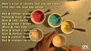 How to Make Paint at Home - Easy Tutorial