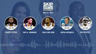 UNDISPUTED Audio Podcast (5.31.18) with Skip Bayless, Shannon Sharpe, Joy Taylor   UNDISPUTED