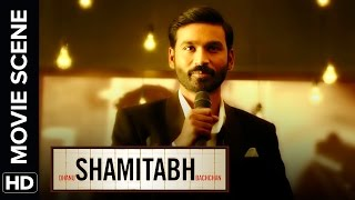 Dhanush does not want to be called Sir | Shamitabh | Movie Scene