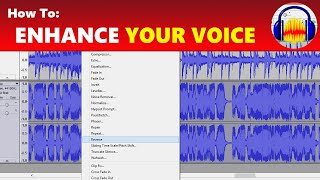 How to: Make Your Voice Sound Better Like Studio Quality in Audacity