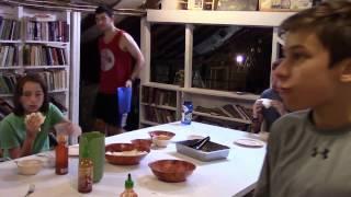 Mealtime at Sangamon