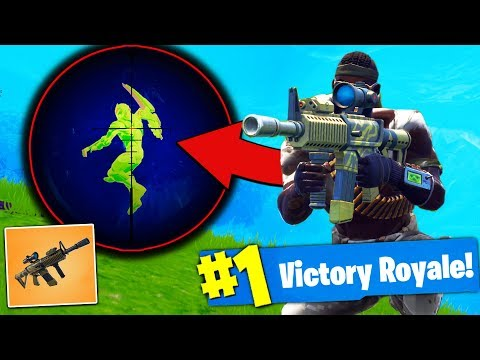 NEW THERMAL SCOPED AR Gameplay Fortnite Battle Royale