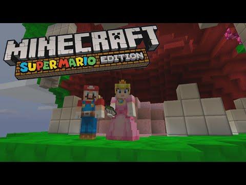 POOCHY fait son entrée Minecraft SUPER MARIO Edition