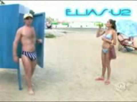 Pegadinhas Picantes SBT Tarado na praia