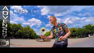 Diabolo tricks by Artem Kalashnikov
