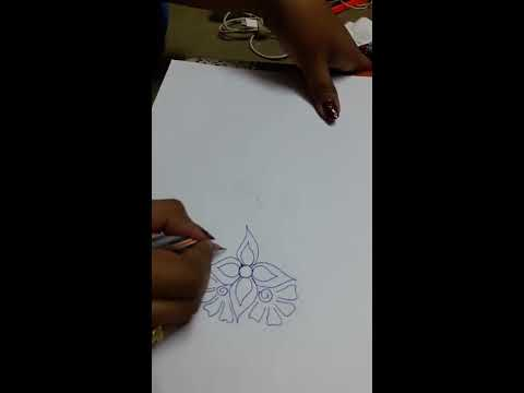 How to Draw a design easily -2 | New Ragoli Designs