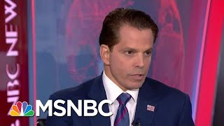 Scaramucci Urges GOP To 'Save The Country,' Speak Out Against Trump | Velshi & Ruhle | MSNBC