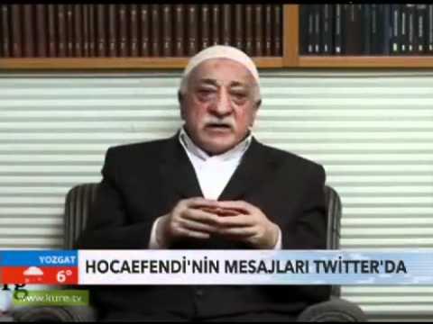 Fethullah Gülen twitter mesajları