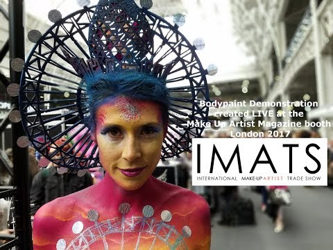 Xxx Mp4 Make Up Artist Magazine Bodypaint Demonstration IMATS 2017 Paintopia 3gp Sex
