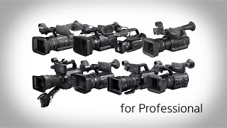 Sony Professional Camcorders Highlight Reel | Sony Professional