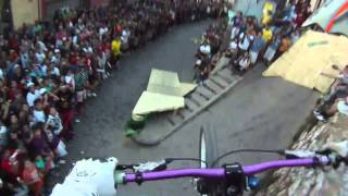 Insane Downhill Bike Race In Chile valparaiso polc 2011