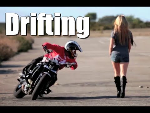 Drifting Motorbike Drift Gymkhana Jorian Ponomareff