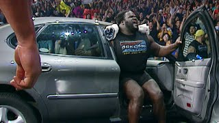 Mark Henry lifts a car and more amazing feats of strength (WWE Network Bonus Clip)