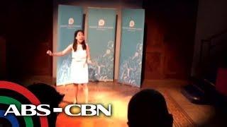 TV Patrol: Temang OFW, ipinanalo ng Pinay sa public speaking contest sa London