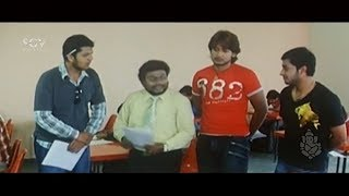 ಏಕ್ಸಾಮ್ ಪೇಪರ್ ಓದೋಕೆ ಅರ್ಧಗಂಟೆ ಬೇಕು , ಹೆಂಗೋ ಬರ್ದೆ | Prajwal | Aindritha | Sadhu Kokila Comedy Scenes