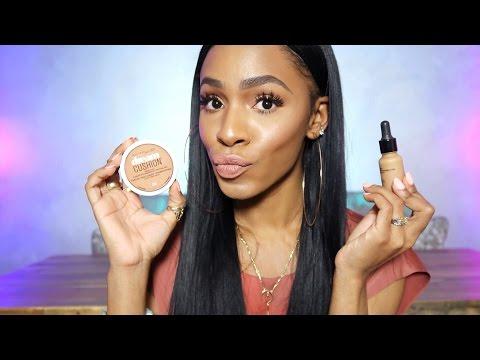 Favorite Affordable Drugstore Foundations for Oily Skin 😍 Foundation Friday ▸ VICKYLOGAN