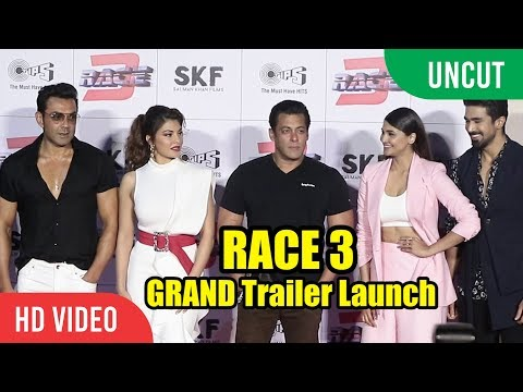 Xxx Mp4 RACE 3 GRAND Trailer Launch FULL HD Video Salman Khan Jacqueline Bobby Deol 3gp Sex