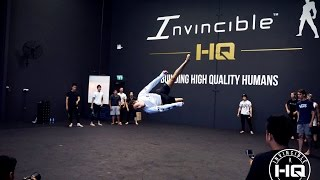 INVINCIBLE HQ Grand Opening Tricking Showcase Battle | Ft. Invincible Worldwide, Sureshot & DMC
