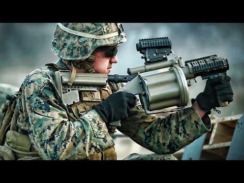Platoon Assault • U.S. Marines Live-Fire Exercise In Korea