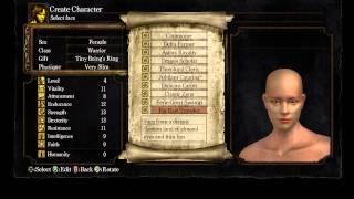 Dark Souls: Prepare to Die Edition - Part 1: Character Creation/Intro Movie