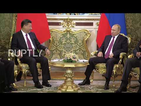 Russia: Putin and Xi Jinping discuss bilateral trade in Moscow