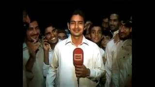 Very funny pakistani reporter | Funny news blooper Pakistan | People disturbing news reporter