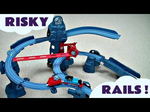Risky Rails Bridge Drop Set Kids Thomas And Friends Toy Train Thomas The Tank Engine