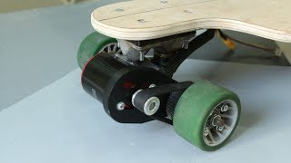 DIY Cheap Electric Longboard - Motor Mount, Belt and Pully - part 2 (under 250$)